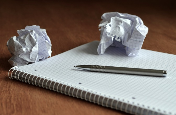 Write down your ideas you never know who can benefit from them